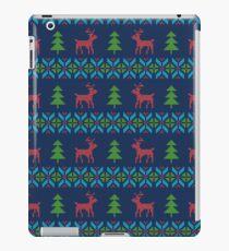 Knitted Reindeers iPad Case/Skin