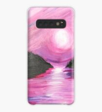 Pink Sky At Night Sailors Delight Case/Skin for Samsung Galaxy