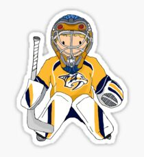 mini preds goalie Sticker