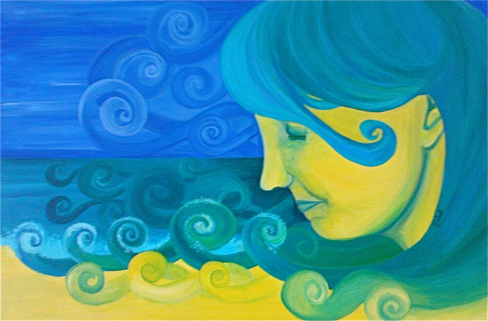 Robyn's Seaside by rachelgleeson