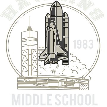 Hawkins Middle School AV CLUB  by teeoftheday