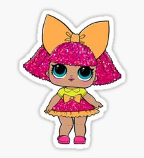 LOL Surprise Dolls - Glitter Queen Sticker