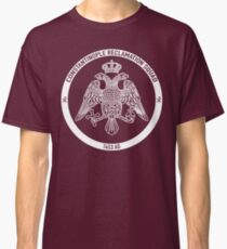 Constantinople Reclamation Squad 1453 AD Classic T-Shirt
