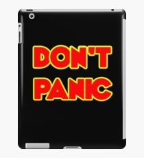 Don't Panic iPad Case/Skin