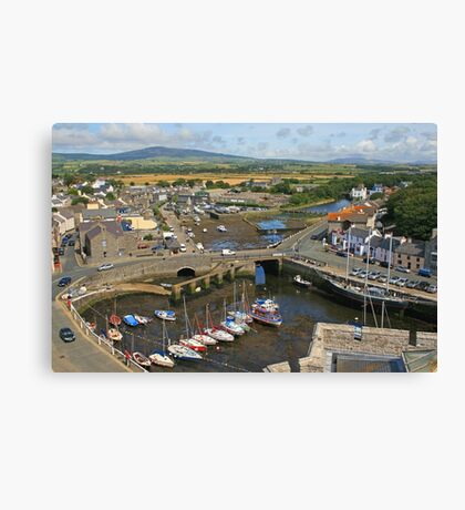 Castletown Harbour Canvas Print