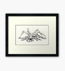 Man-Spider Framed Print
