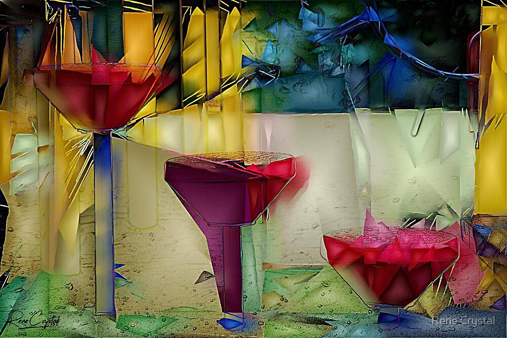 Playing in the Abstract by Rene Crystal