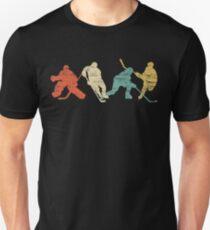 Classic Vintage Style Ice Hockey Unisex T-Shirt