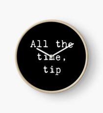 Reloj Todo el tiempo, consejo