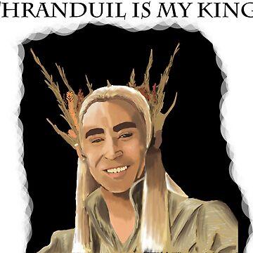 Thranduil Is My King by durzarina