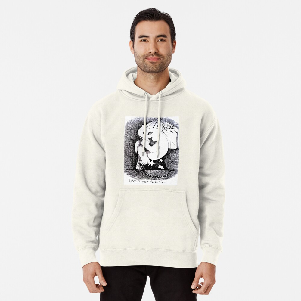 Happy in spite of everything Sudadera con capucha