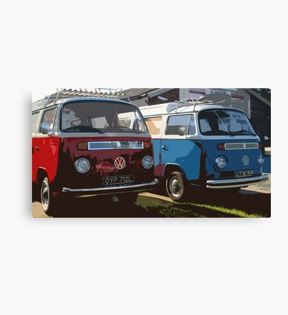 Happy Campers Canvas Print