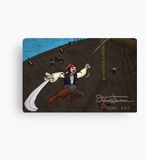 Swashbuckling Captain Canvas Print