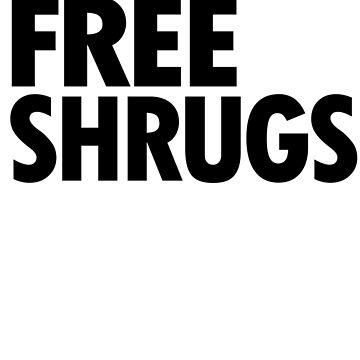 Free Shrugs by BattleTheGazz