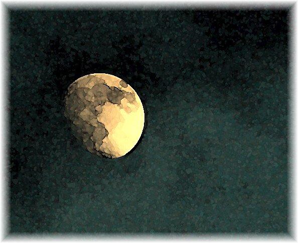 Man in the Moon by Cherubtree