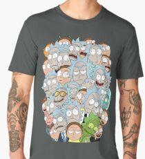 Camiseta premium para hombre Rick y Morty - Superados en número ...