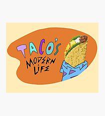 Taco's Modern Life Photographic Print