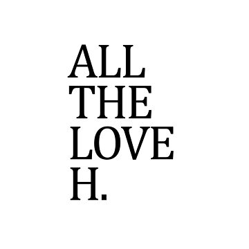 HARRY STYLES - ALL THE LOVE by LuanaGonzaga