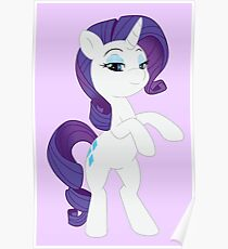 Rarity is Best Pony Poster