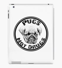 Pugs Not Drugs Meme Parody iPad Case/Skin