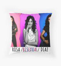 rosa diaz Throw Pillow