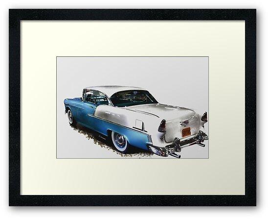 55 Chevy Belair by Carla Jensen