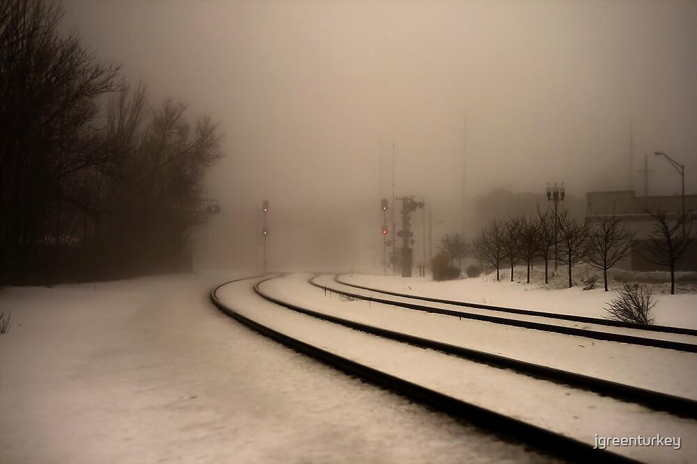 Gloomy Train by jgreenturkey