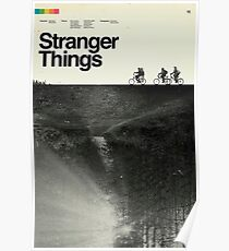 Stranger Things Polaroid Poster
