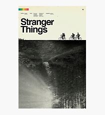 Stranger Things Polaroid Photographic Print