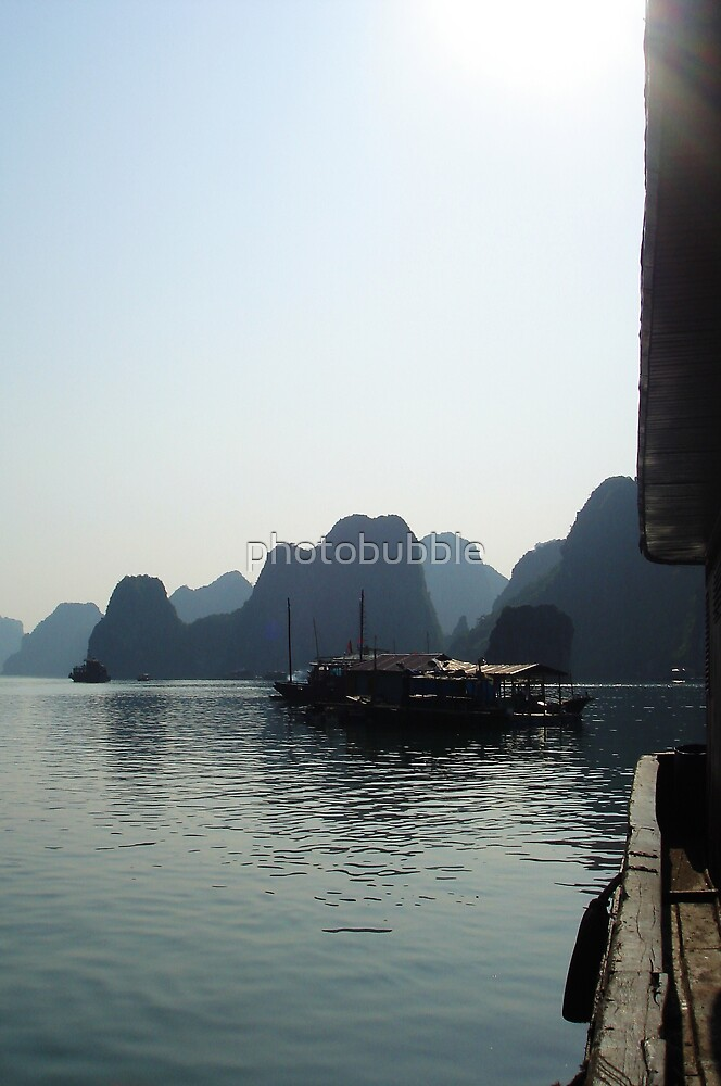 *Ha Long Bay* by Julie  Hamilton