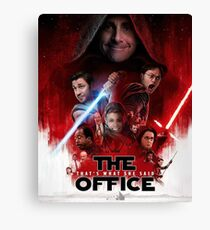 The Office - Star Wars Canvas Print