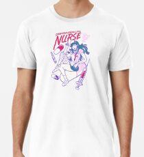 Camiseta premium para hombre Danganronpa 2: Enfermera final Mikan Tsumiki Pastel (Danganronpa 2: Adiós a la desesperación)