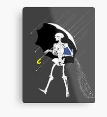 Morton Salt Skeleton Metal Print