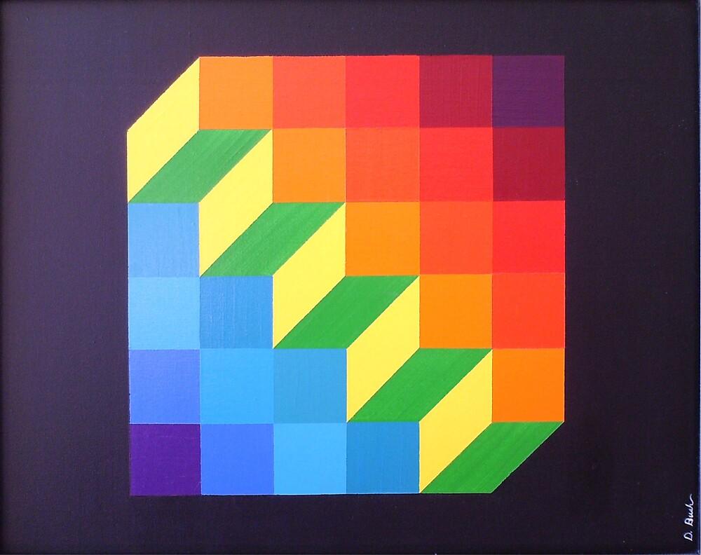 Upstairs-Downstairs by David Bush