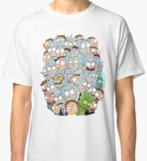 Rick and Morty - Outnumbered... Classic T-Shirt