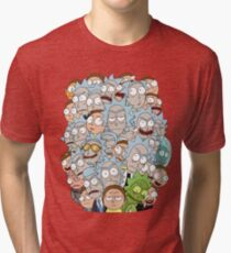 Rick and Morty - Outnumbered... Tri-blend T-Shirt