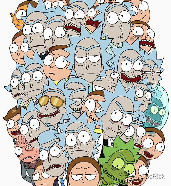 Rick and Morty - Outnumbered... by DocRick