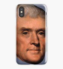 Thomas Jefferson face - Rembrandt (eins) iPhone Case