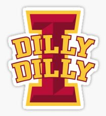 dilly dilly iowa state university football shirt meaning Sticker