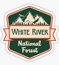 White River National Forest Sticker
