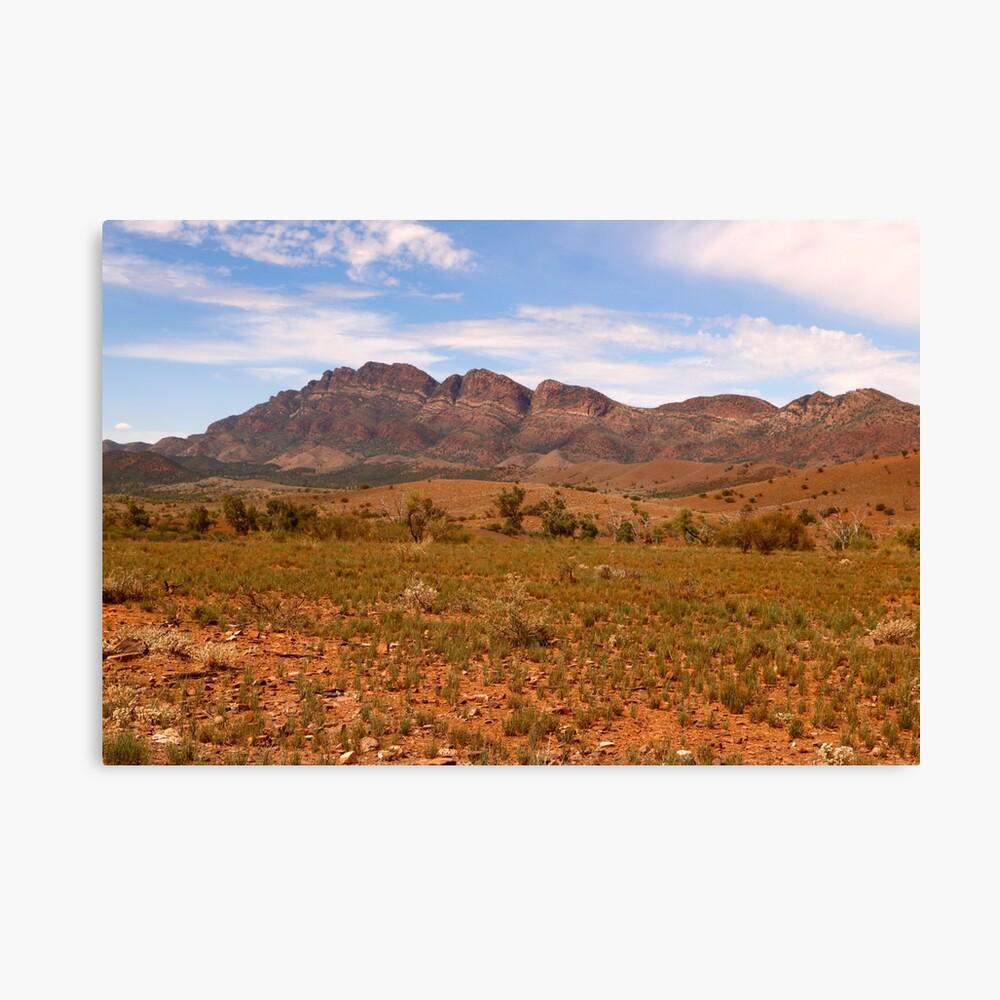 The Flinders Ranges Australia Canvas Print