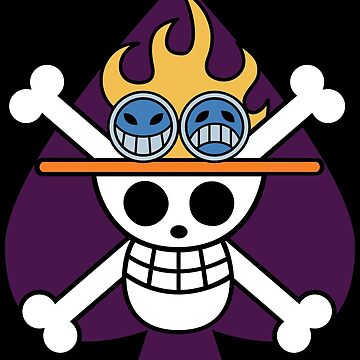 Ace's Flag - One Piece by Americ