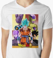 Dragonball Super Men's V-Neck T-Shirt