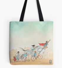 Escape to Everywhere by Freya Blackwood Tote Bag