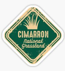Cimarron National Grassland Sticker