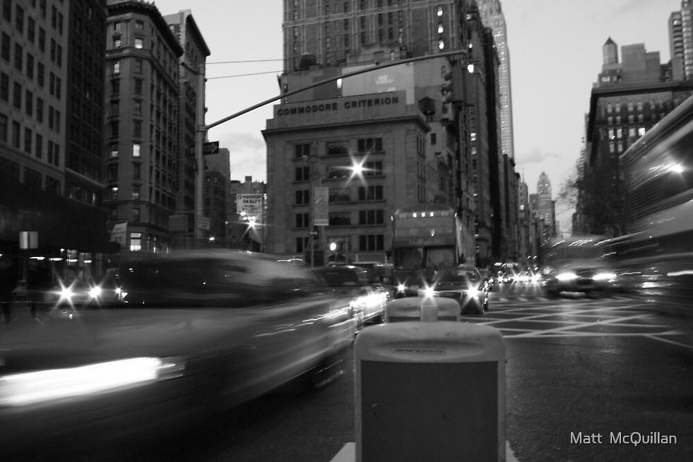 NY by Matt  McQuillan