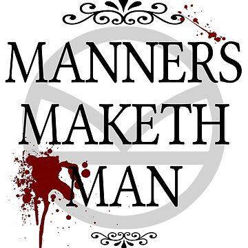 Manners Maketh Man by AustralianSpy