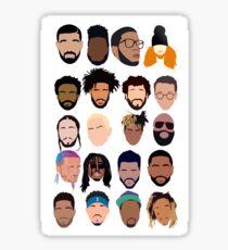 Rappers Sticker