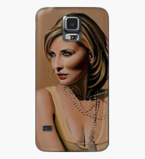 Cate Blanchett Painting  Case/Skin for Samsung Galaxy