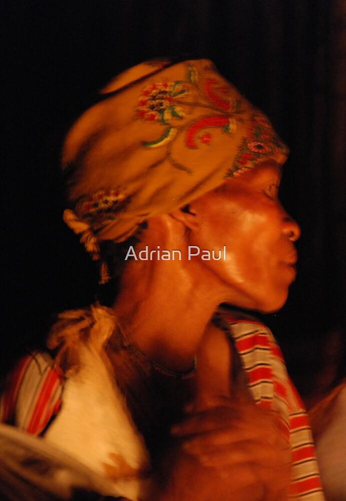 The Trance, Kalahari Healing Ceremony, Botswana, Africa by Adrian Paul
